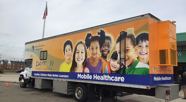 DPS Community Health Centers of Greater Dayton Mobile Health Unit
